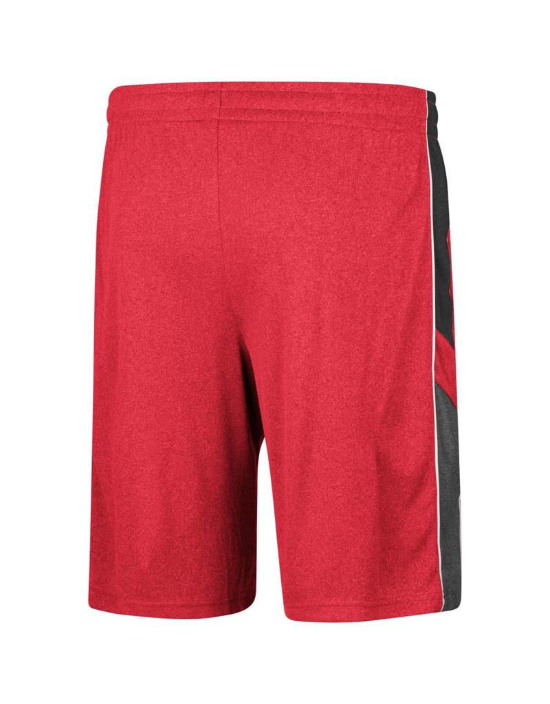 Colosseum Athletics SHORT, POLY, TRIPLE-A, RED, UL