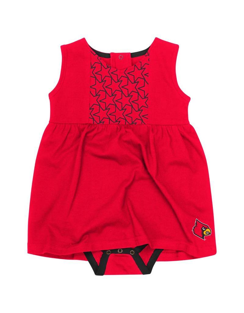 Colosseum Athletics DRESS, INFANT, ONESIE, PF FLYERS, RED, UL
