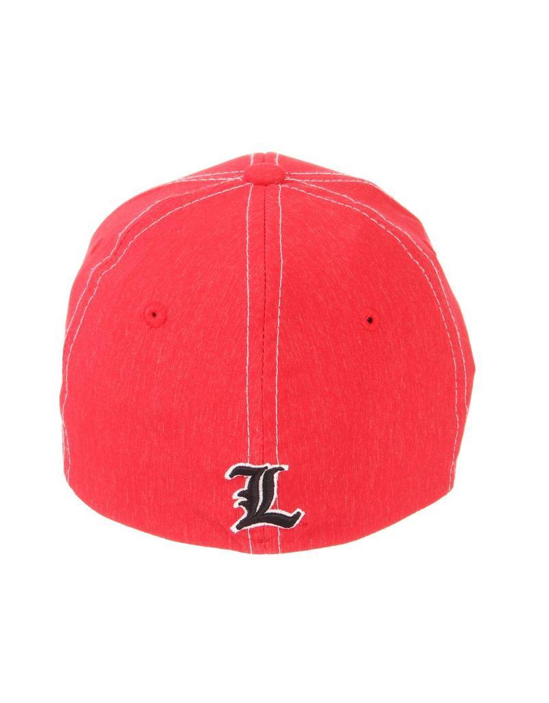 Zephyr Graf-X HAT, YOUTH, FLEX-FIT, CENTER COURT, RED, UL