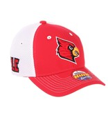 HAT, YOUTH, FLEX-FIT, RELAY, RED/WHITE, UL