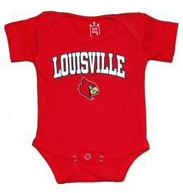 Little King ROMPER, INFANT, SS, DIAPER SHIRT, RED, UL