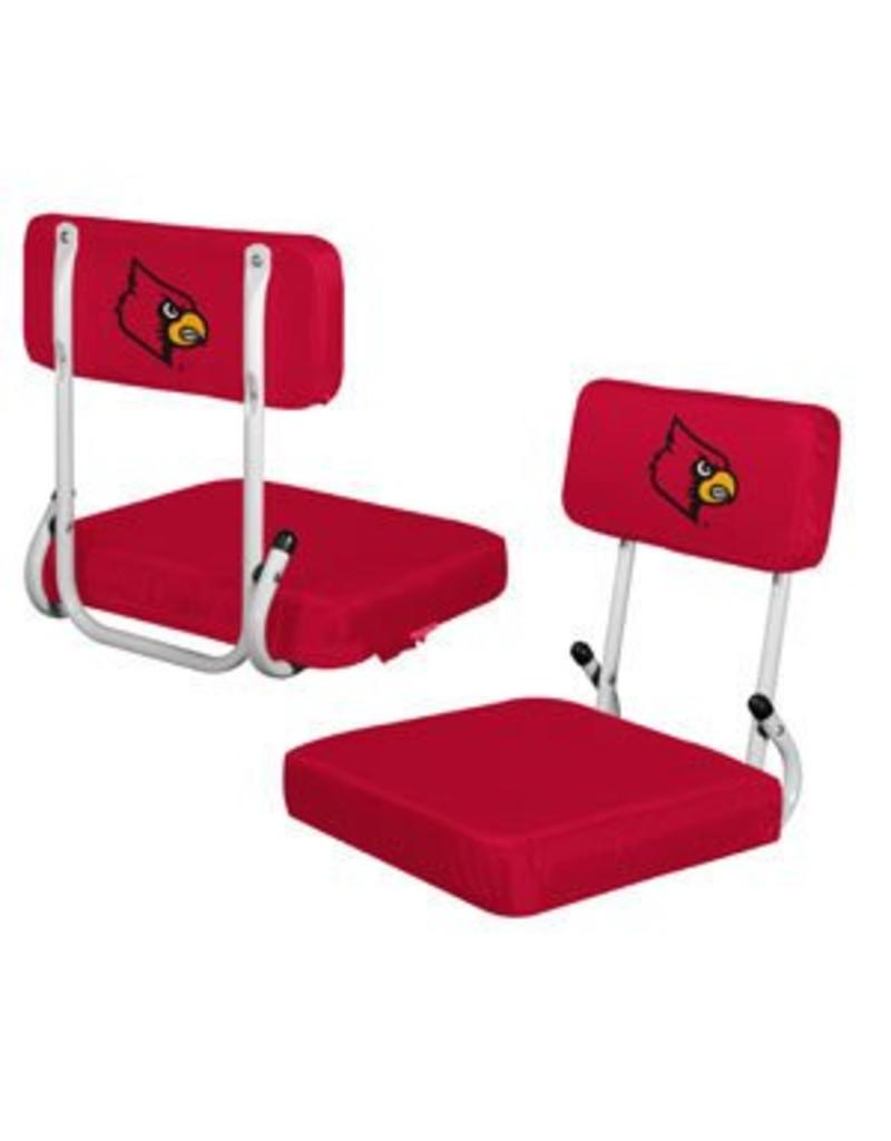 Logo Chair STADIUM SEAT, HARDBACK, RED, UL