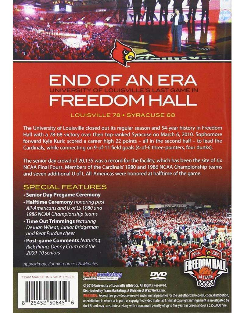 DVD, END OF AN ERA: FREEDOM HALL, UL