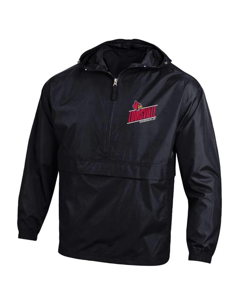 Champion Products PULLOVER, WINDBREAKER, PACK & GO, BLACK, UL