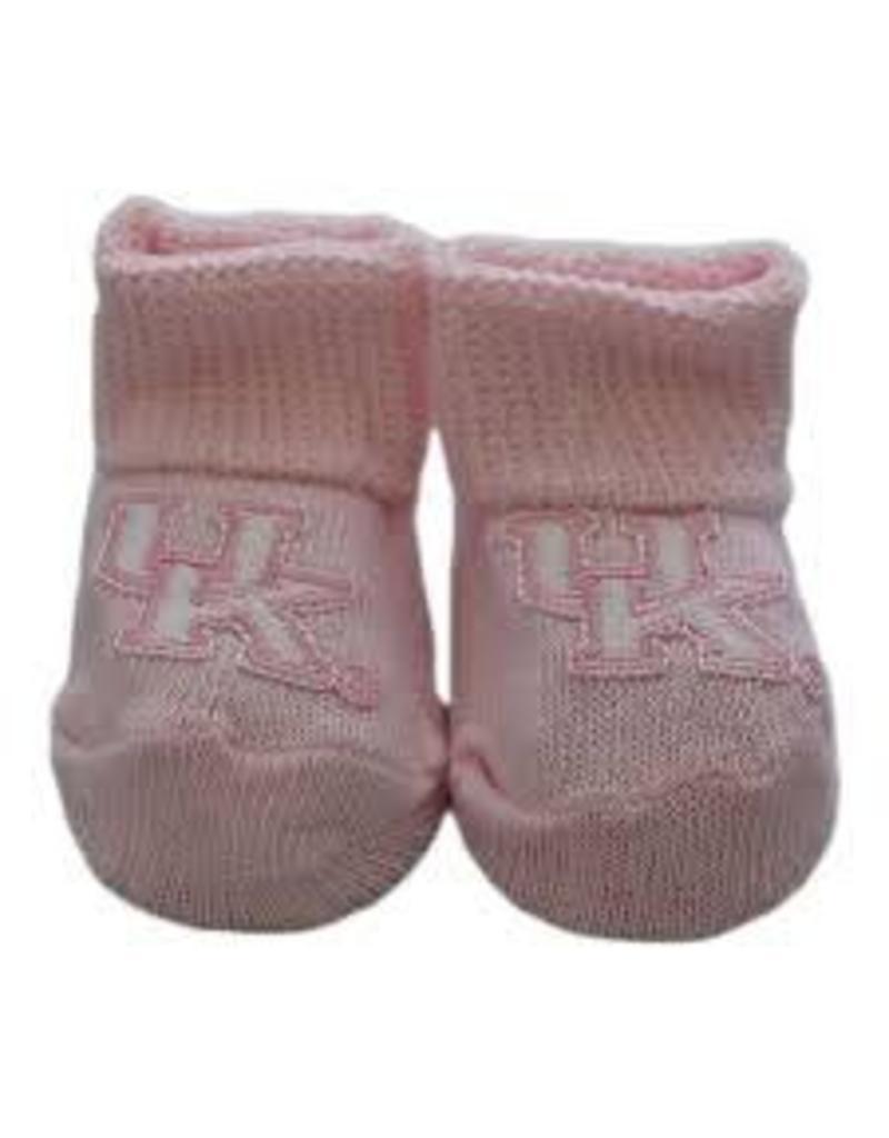 Creative Knitwear BOOTIES, INFANT, PINK, UK