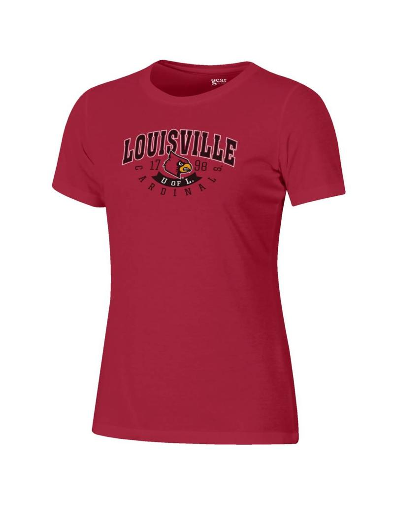 Gear for Sports TEE, LADIES, SS, RELAXED CLASSIC, RED, UL
