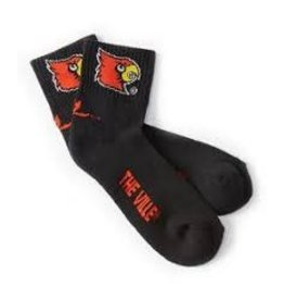 SOCKS, QUARTER, BLACK, UL