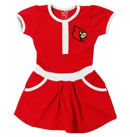 Little King DRESS, TODDLER, TEAM COLOR, RED, UL