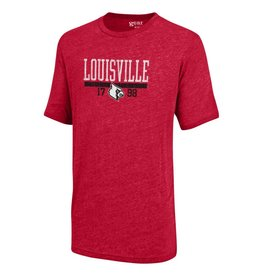 Gear for Sports TEE, SS, TRI-BLEND, RED, UL