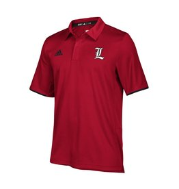 Adidas Sports Licensed POLO, ADIDAS, ICONIC CLIMALITE, RED, UL