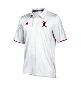 Adidas Sports Licensed POLO, ADIDAS, ICONIC CLIMALITE, WHITE, UL
