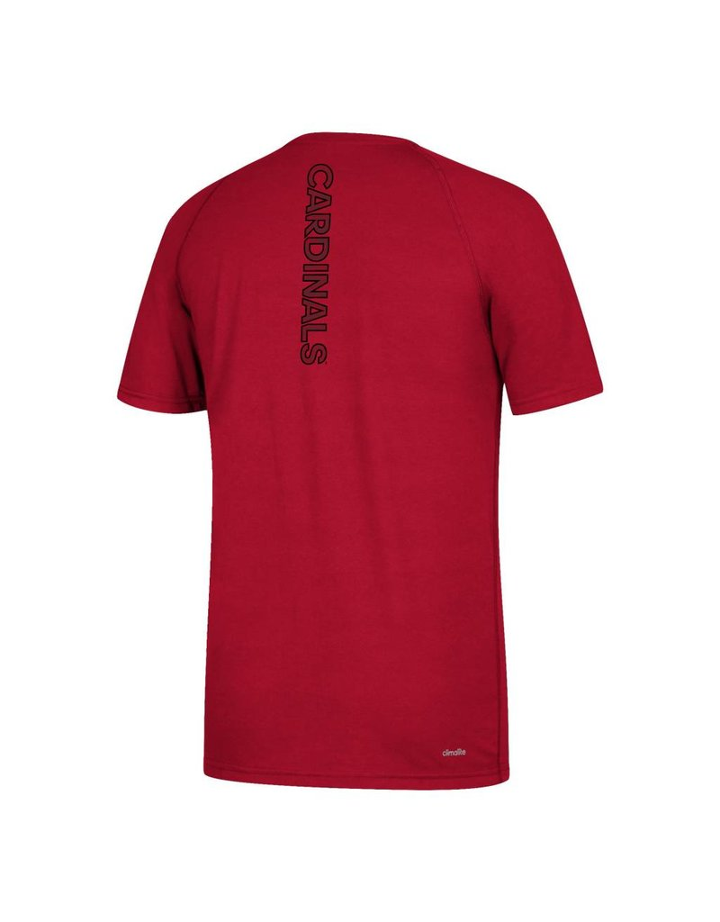 Adidas Sports Licensed TEE, SS, ADIDAS, SIDELINE SEQUEL, RED, UL