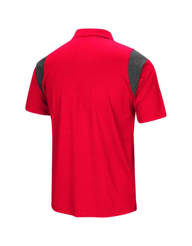 Colosseum Athletics POLO, FRIEND, RED, UL-C