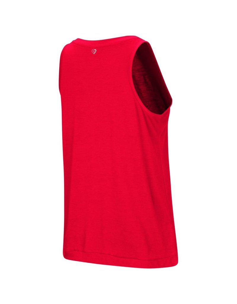 Colosseum Athletics TANK, LADIES, BET ON ME, RED, UL