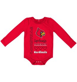 Colosseum Athletics ONESIE, INFANT, ITS STILL GOOD, RED, UL