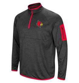 Colosseum Athletics PULLOVER, 1/4 ZIP, AMNESIA, BLACK, UL