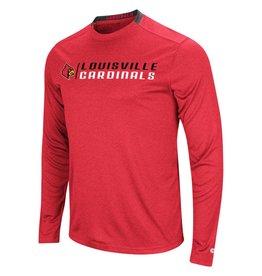 Colosseum Athletics TEE, LS, HYPNO, RED, UL