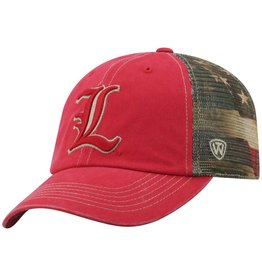 Top of the World HAT, ADJUSTABLE, FLAG TACULAR, 2-TONE, UL