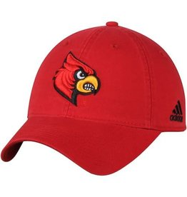 Adidas Sports Licensed HAT, FLEX FIT, ADIDAS, SLOUCH, RED, UL