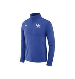 Nike Team Sports PULLOVER, NIKE, 1/4 ZIP, HZ C, ROYAL, UK