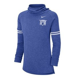 Nike Team Sports TEE, LADIES, LS, NIKE, FUNNEL, ROYAL, UK