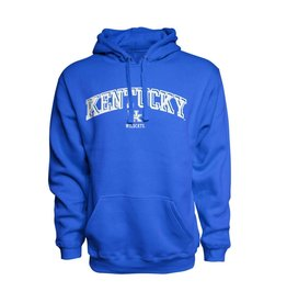J. America HOODY, PREMIUM, EMBROIDERED, ROYAL, UK