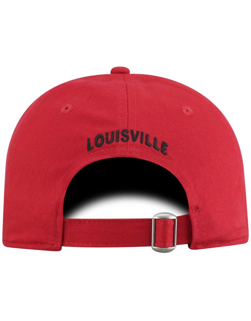 Top of the World HAT, LADIES, ADJUSTABLE, GLOW DIST, RED, UL