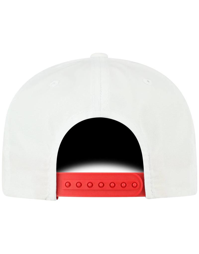 Top of the World HAT, ADJUSTABLE, ADVISOR, WHITE, UL