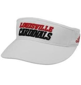 Adidas Sports Licensed VISOR, TEX ACE, WHITE, UL