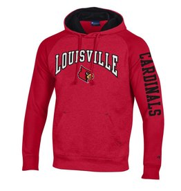 Champion Products HOODY, HERITAGE, RED/BLACK, UL