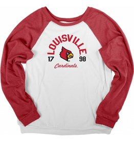 BLUE 84 CREW, LADIES, FLEECE, POLITICAL JR, WHT/RED, UL