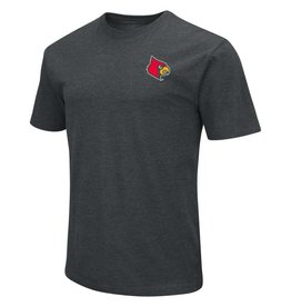 Colosseum Athletics TEE, SS, LOCATOR, CHARCOAL, UL-C