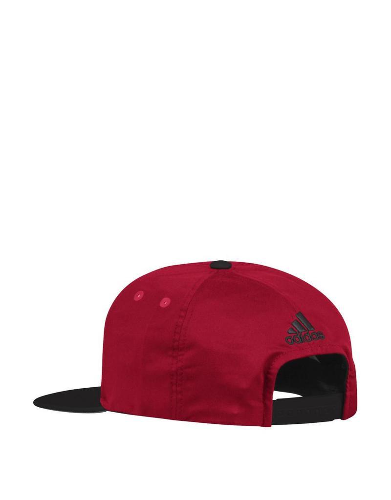 Adidas Sports Licensed HAT, ADJUSTABLE, ADIDAS, SNAPBACK, RED/BLACK, UL