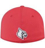 Top of the World HAT, 1-FIT, PITTED, RED, UL