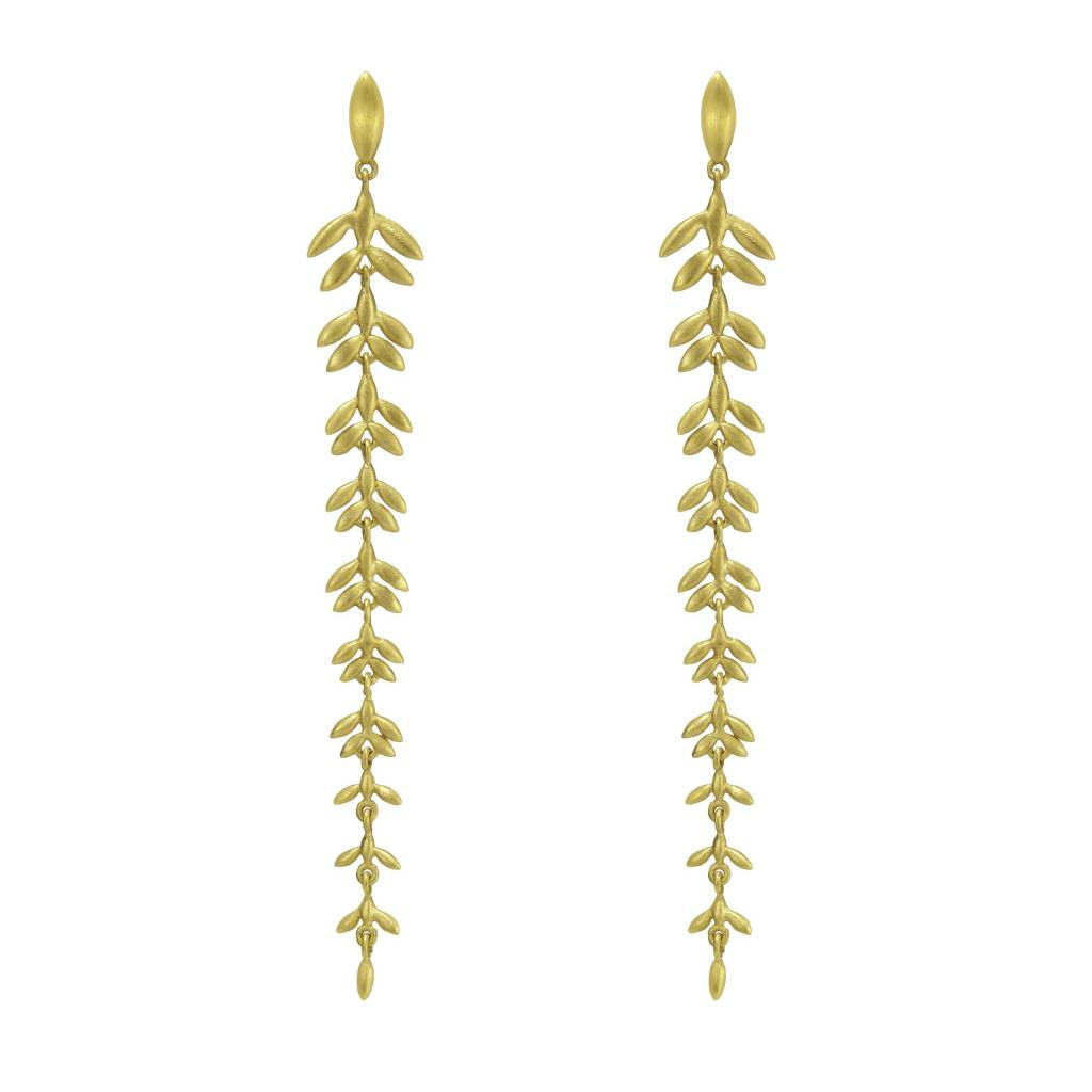 Dean Davidson Leaf Drop Earrings