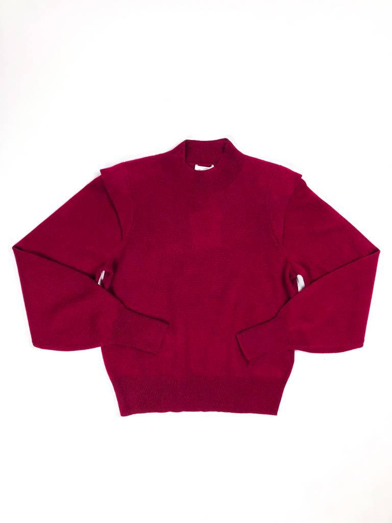 Joie Atilla Mock Neck Sweater