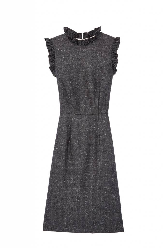 Rebecca Taylor SL Herringbone Dress
