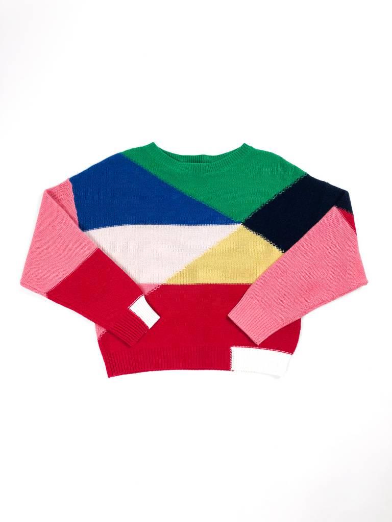 Joie Megu Geo Colorblock Sweater