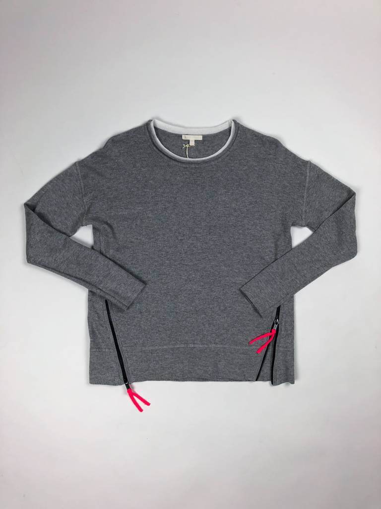 Lisa Todd Zip Line Side Zip Sweater