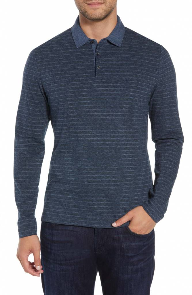 Robert Barakett Wellington L/S Polo