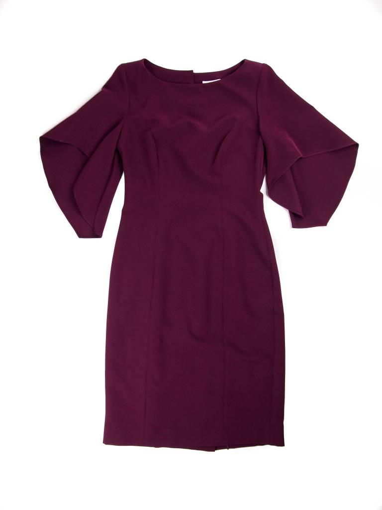MILLY Mila Ruffle Sleeve Dress