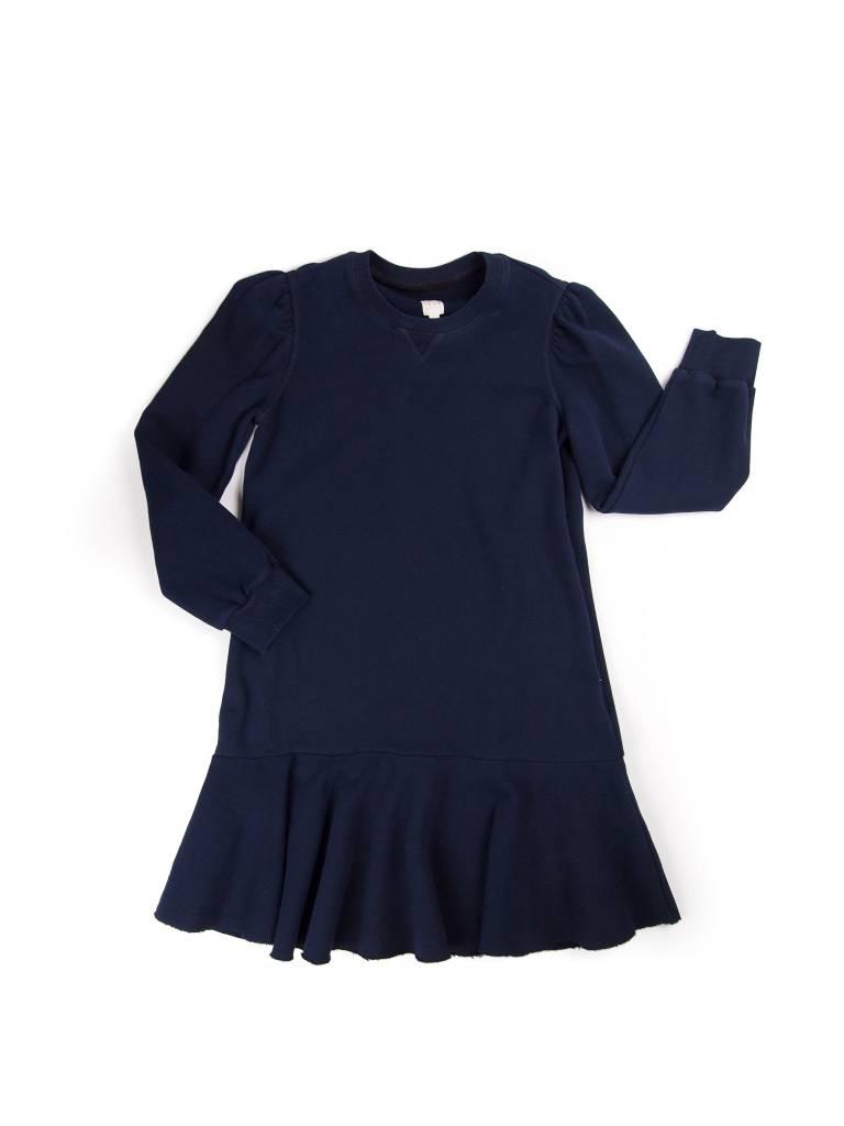 La Vie Rebecca Taylor LS Fleece Dress