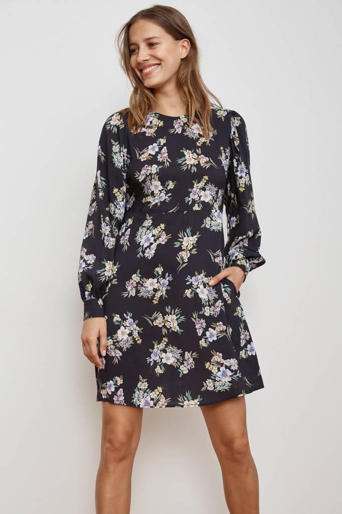 Velvet by Graham & Spencer Winola Floral LS Dress