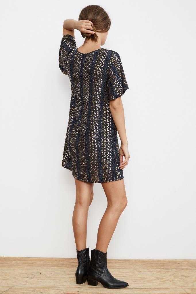 Velvet by Graham & Spencer Vivi Sequin SS Dress