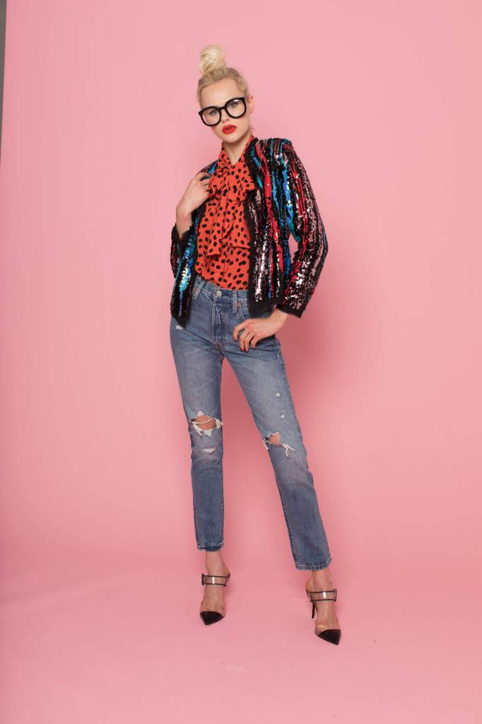 Hunter Bell Coco Sequin Jacket