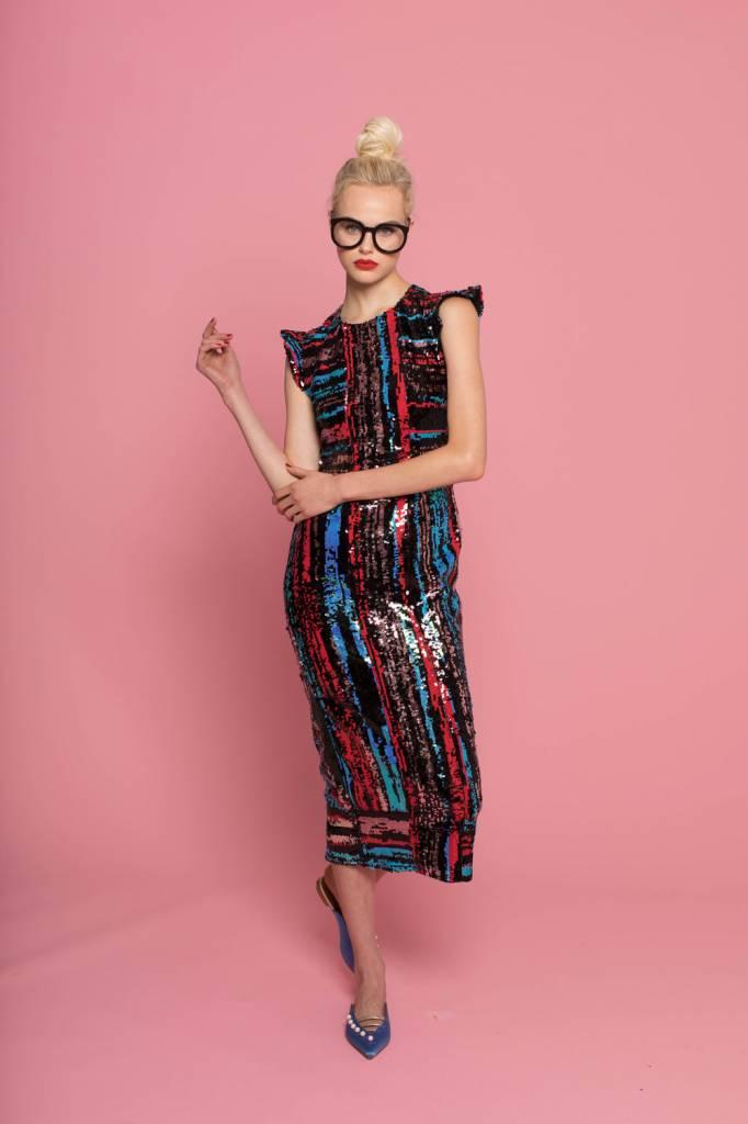 Hunter Bell Roxy Sequin Dress