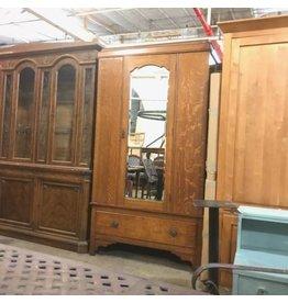 Vintage Tiger Oak Closet #RED