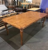 Oversized Solid Alder Dining Table #RED