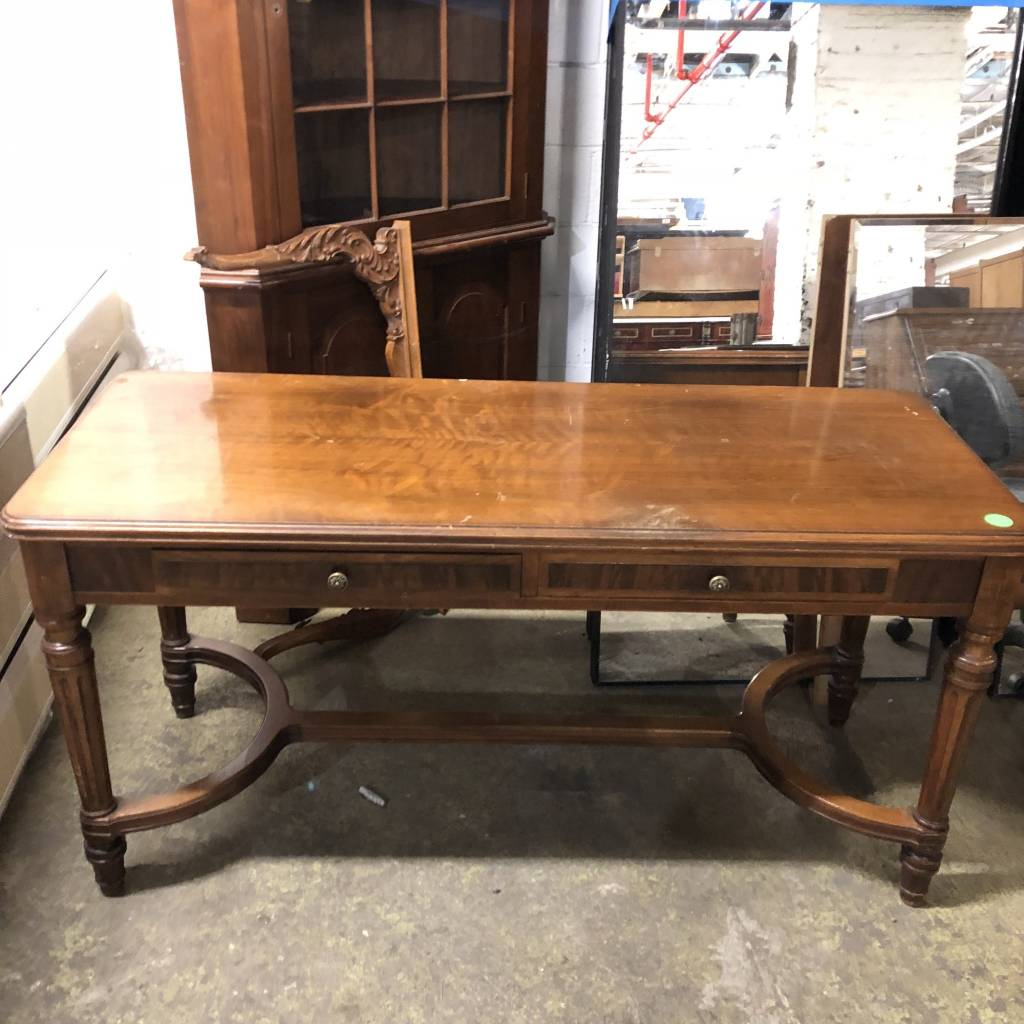 Tiger Oak Office Table #GRE