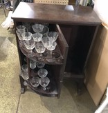 Antique Revolving Liquor Cabinet #GRE